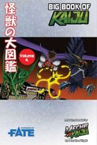 Mecha vs Kaiju: Big Book of Kaiju - Sky (Fate Core)