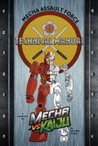 Mecha vs Kaiju: The Mecha Assault Force Technical Manual