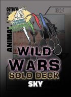 Wild Wars - Beginner Solo Deck - Sky