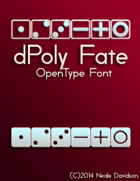 dPoly Fate OpenType Font