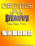 dPoly Steampips OpenType Font