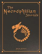 The Necrophidian Journals - Black Edition - Graph Paper Book