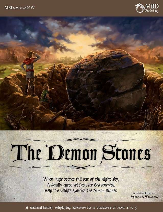 Cover of The Demon Stones