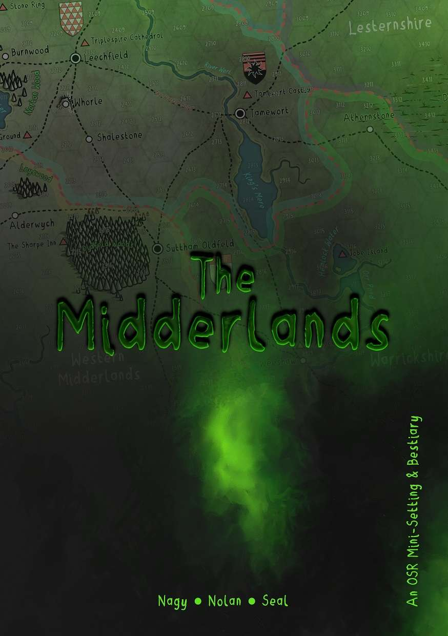 The Midderlands - OSR Bestiary and Setting