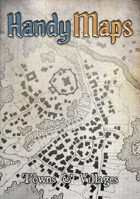 HandyMaps - Towns & Villages