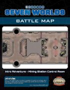 Seven Worlds Battlemap 02 - Mining Station Control Room