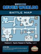 Seven Worlds Battlemap 09 - Ice-World Research Facility