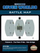 Seven Worlds Battlemap 11 - Spherical spaceship bridge