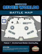 Seven Worlds Battlemap 12 - Space Station Docking Bay