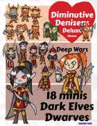 Diminutive Denizens Deluxe: Deep Wars Minis Pack