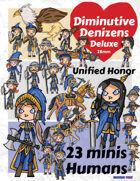 Diminutive Denizens Deluxe: Unified Honor Minis Pack