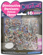 Diminutive Denizens Deluxe: Cyberpunks Minis Pack