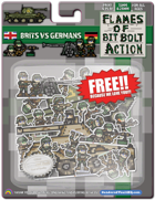Flames of Bit Bolt Action! 28mm & 15mm British and German Miniatures!