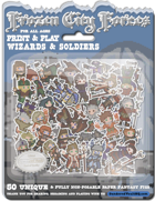 Frozen City Forces - Wizards & Soldiers - 50 unique Minis for Frostgrave and More!