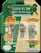 Green Vs. Tan - Tan Reinforcements Pack 1 - Triple Heroes!