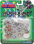 Pixel Rangers Play Force - 22 Miniatures! for Tokusatsu/Henshi/Sentai Games!