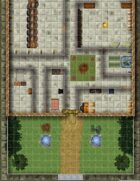 56 Color Pages of maps! Any RPG 1 Inch Battle Maps