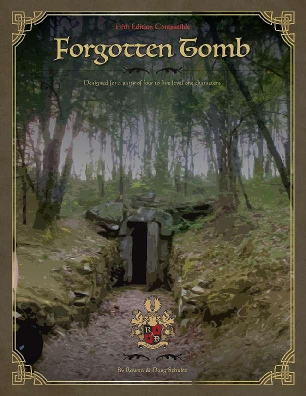 Forgotten Tomb 5e R Amp D Adventures Drivethrurpg Com