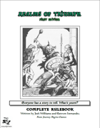 Realms of Triumph Complete Rulebook