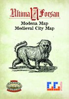 Ultima Forsan - Modena Map (Renaissance City)