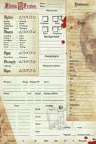 Ultima Forsan - Pregen Characters & Character Sheet