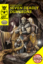 Gold&Glory: Seven Deadly Dungeons (Savage Worlds Adventure Edition)