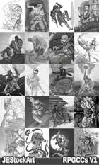 RPG Character Art Pack - Volume I