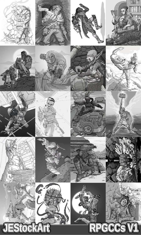 RPG Character Art Pack - Volume I
