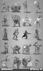 RPG Character Art Pack - Volume IV