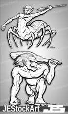 PWYW JEStockArt - Fantasy Monster Batch 01