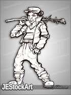PWYW JEStockArt - Young Street Punk