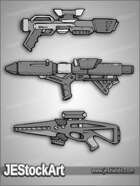 JEStockArt - SciFi - SciFi Weapon Pack 03 - HQG