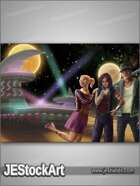 JEStockArt - SciFi - Space Club Travellers - DPB