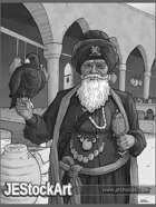 JEStockArt - Fantasy_Arabian - Wealthy Arabian Merchant - GB