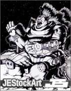 JEStockArt - Fantasy - Jolly Campside Warrior - HQL