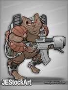 JEStockArt - SciFi - Mercenary Space Hamster - CNB