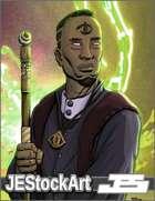 JEStockArt - Fantasy - High Priest of the Seeing Eye - CWB