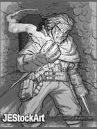 JEStockArt - Fantasy - Alchemist in Ancient Halls - GB