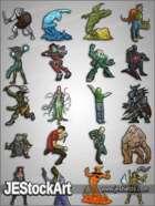 RPG Character Art Pack - Volume VII