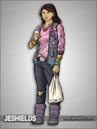 JEStockArt - Modern - Filipino Woman In Vest - CNB