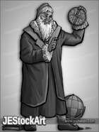 JEStockArt - History - Wise Astrologer with Astrolabe- GNB