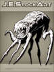 JEStockArt - SciFi - Spindly Six Legged Beast With Fangs - INB