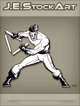 JEStockArt - Supers - Martial Artist With Collapsible Staff - LNB