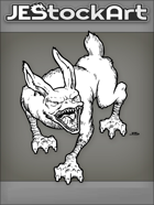 JEStockArt - Fantasy - Rabid Rabbit With Duck Bill And Webbed Feet - LNB