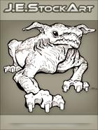 JEStockArt - Fantasy - Wrinkled Goblin Pug Beast - LNB