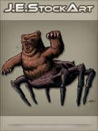 JEStockArt - Fantasy - Literal Bear Bug Roaring With Spit - CNB