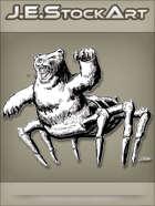 JEStockArt - Fantasy - Literal Bear Bug Roaring With Spit - INB