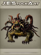 JEStockArt - Fantasy - Mutated Dragon With Insect Parts - CNB