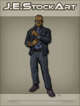 JEStockArt - Modern - Slick Black Man In Fancy Suit - CNB