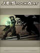 JEStockArt - Supernatural - Modern Mage Of Cthulhu In Dark Alley - CWB
